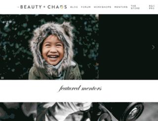 inbeautyandchaos.com screenshot