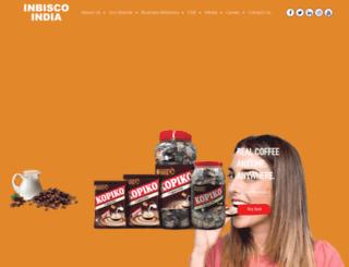 inbiscoindia.com screenshot