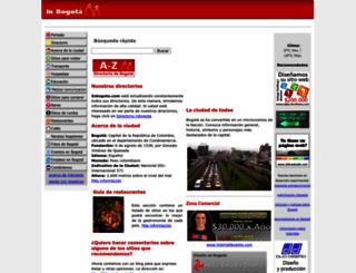 inbogota.com screenshot