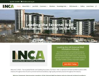 inca-ltd.org.uk screenshot