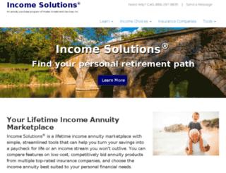 incomesolutions.com screenshot