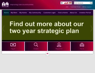 incommunities.co.uk screenshot