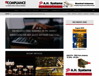 incompliancemag.com screenshot