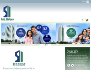 incorporadorasaomateus.com screenshot