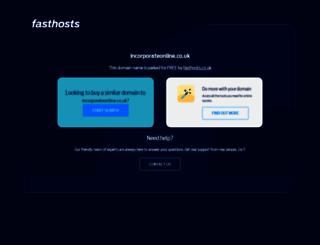 incorporateonline.co.uk screenshot