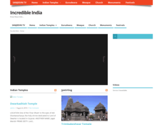 incredible-india.sanjeevnitv.com screenshot