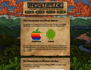 incredipede.com screenshot