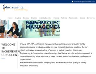 incremental.co.in screenshot