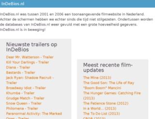 indebios.nl screenshot