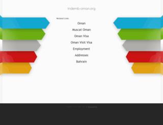 indemb-oman.org screenshot
