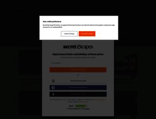 independent.secretescapes.com screenshot