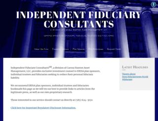 independentfiduciaryconsultants.com screenshot