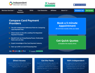 independentmerchantservices.co.uk screenshot