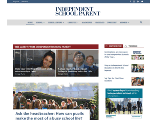 independentschoolparent.com screenshot