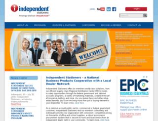 independentstationers.coop screenshot