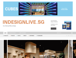 indesignlive.sg screenshot