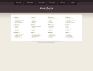 indexgala.com screenshot