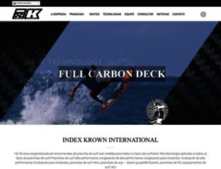 indexkrown.com.br screenshot