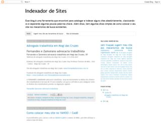 indexsites.blogspot.com.br screenshot