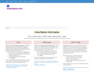 india-banks-info.com screenshot