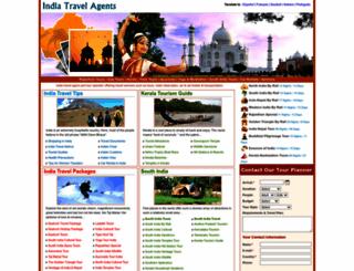 india-travel-agents.com screenshot
