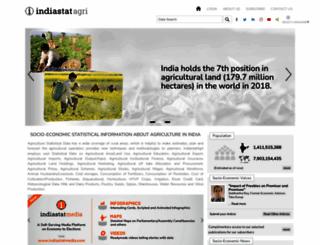 indiaagristat.com screenshot