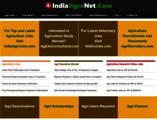 indiaagronet.com screenshot
