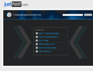 indiabusinesschannel.com screenshot