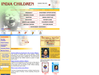 indiachildren.com screenshot