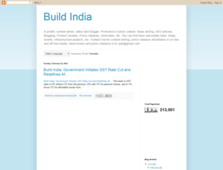 indiaconstructionupdate.blogspot.in screenshot