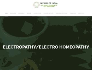 indiaelectropathy.org screenshot