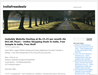 indiafreedealz.wordpress.com screenshot