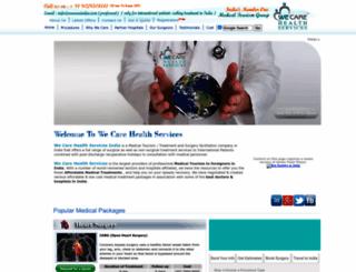 indiahealthtour.com screenshot