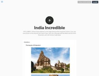 indiaincredible.tumblr.com screenshot