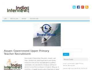 indiainterview.com screenshot