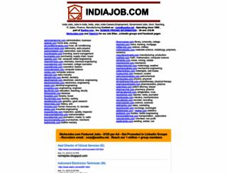 indiajob.com screenshot