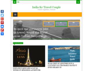 indiaketravelcouple.com screenshot