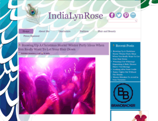 indialynrose.com screenshot