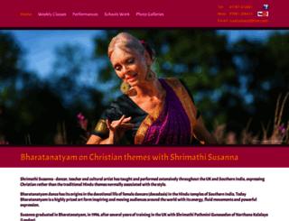 indian-dance.co.uk screenshot