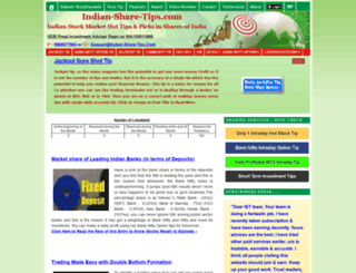 indian-share-tips.com screenshot