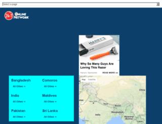 indian-subcontinent.247onlinenetwork.com screenshot