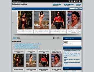 indianactressclub.blogspot.in screenshot