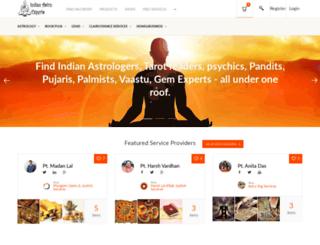 indianastroexperts.com screenshot