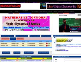 indiancivils.com screenshot