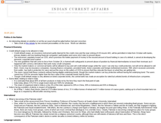 indiancurrentaffairs.blogspot.com screenshot