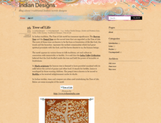 indiandesigns.wordpress.com screenshot