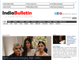 indianewsbulletin.com screenshot