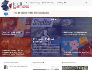 indiangames.fr screenshot