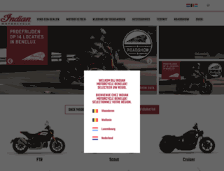 indianmotorcyclebenelux.com screenshot