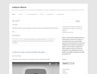 indianowatch.wordpress.com screenshot
